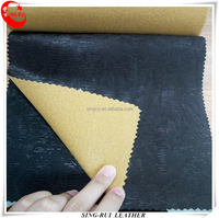 Emossed PVC Synthetic Leather Materials Use Shoes or Bags