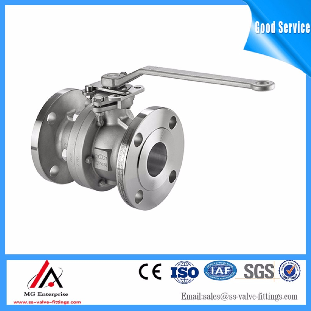 SS 304/ 316/ Flange Stainless Steel Ball Valve