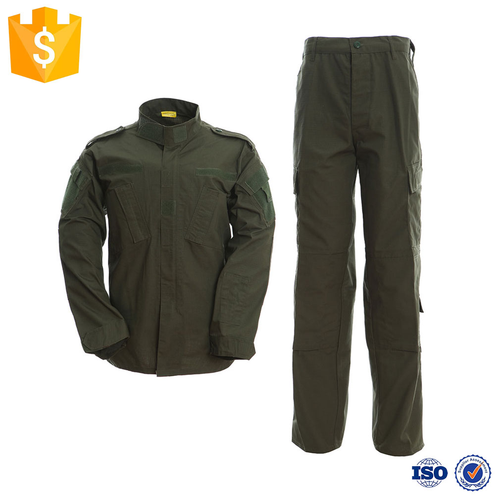 Wholesale Military olive green army camo uniform acu