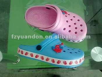 Summer fashion kids garden shoes