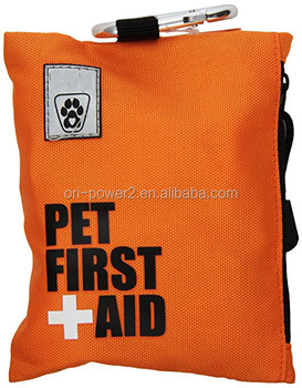 OP FDA CE ISO approved mini pocket nylon dog cat emergency essential pet first aid kit