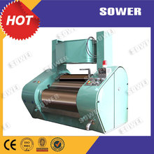 Hydraulic three roll mill for UV ink