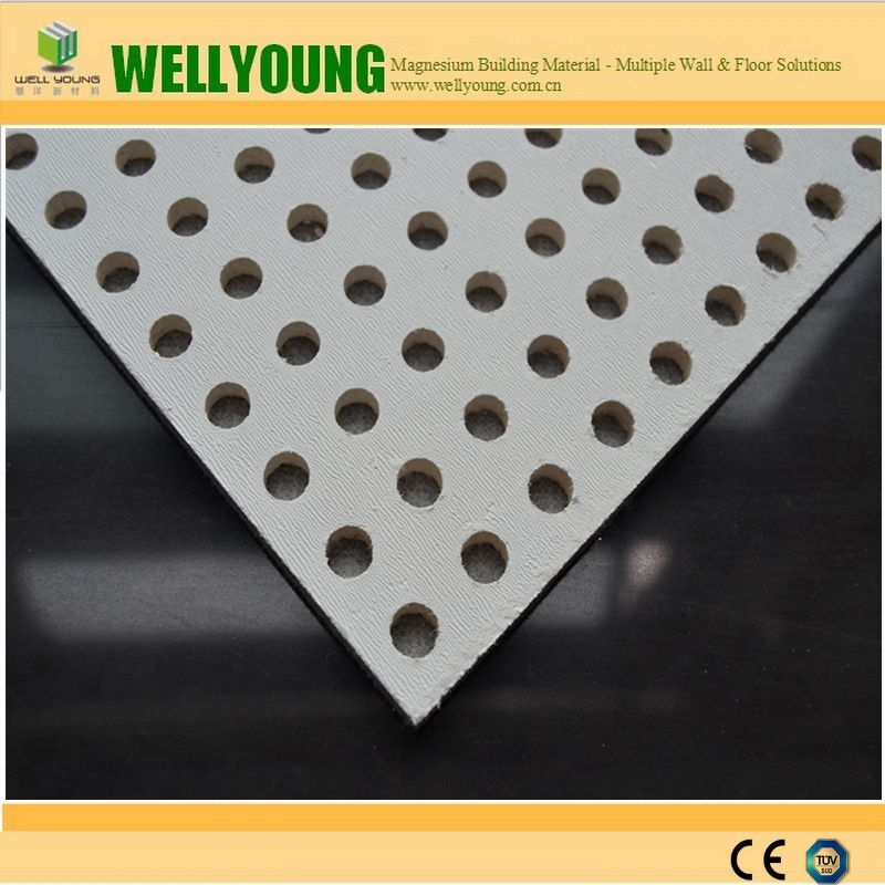 perforated mgo board for acoustical place