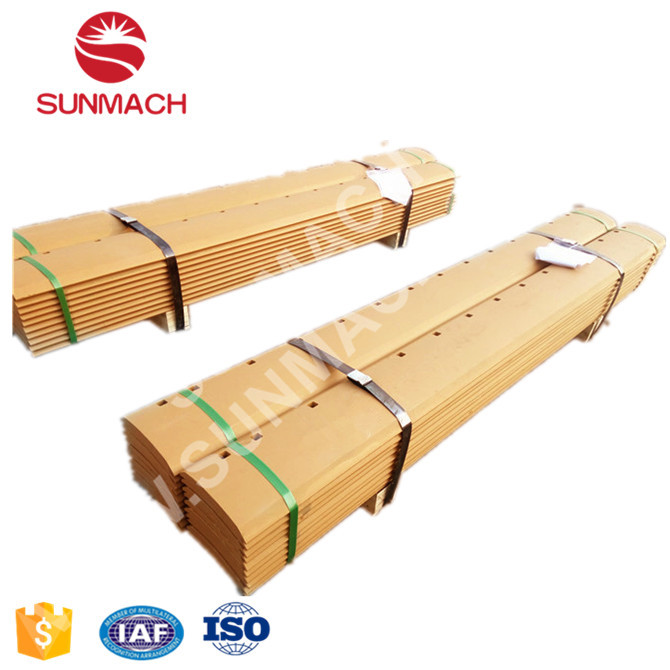 SUNMACH Grader Blades Manufacturer 5D9554 Cutting Edge 15 Holes 16*152.4*2133.6mm 30MNB Heat Treatment In Stock China Factory
