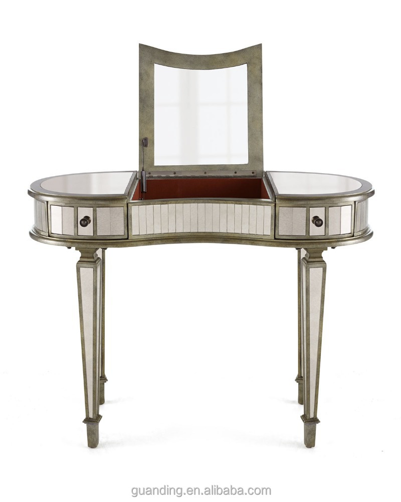 Modern Bedroom Girl 39 S Makeup Antique Vanity Mirrored