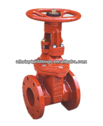 250PSI AWWA C509 Cast Iron OS&Y Fire Protection Gate Valve