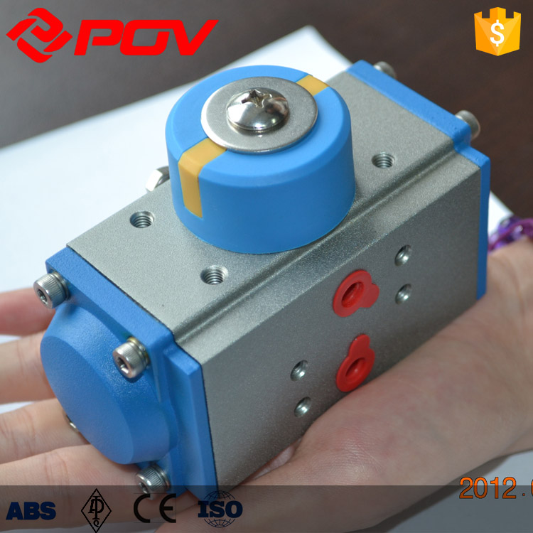 Reasonable price for 3 way valve and actuator angle stroke pneumatic