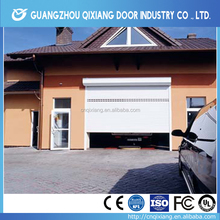Transparent Roller Shutter Garage Doors Automatic , Remote Control