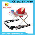 NEW METAL EUROPEAN BASE BABY WALKER WITH MUSICAL AND FLASHING TOYS