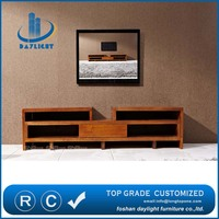 Modern European style wooden living room TV stand