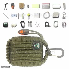 cheap wholesale camping equipment gear list survival flashlight kit