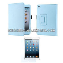 Stylish Magnetic Smart Cover Stand Leather Case for iPad Mini 2 Case