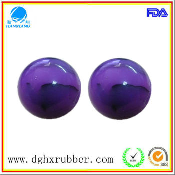 Dongguan manufacturer high bouncy silicone ice ball mould