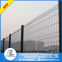 counter bending galvanized fence panel