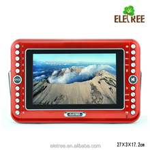 EL-610 8.5 Inch Portable DVD Player with USB, TV, AUX, SD, FM