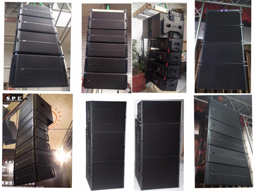 LA-5AD/SUB spe audio 1200W active dual 15 line array sub