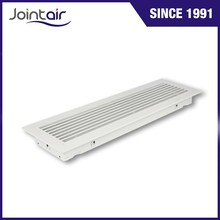 HVAC System Aluminum Linear Bar Grille Register Covers With Removable Core
