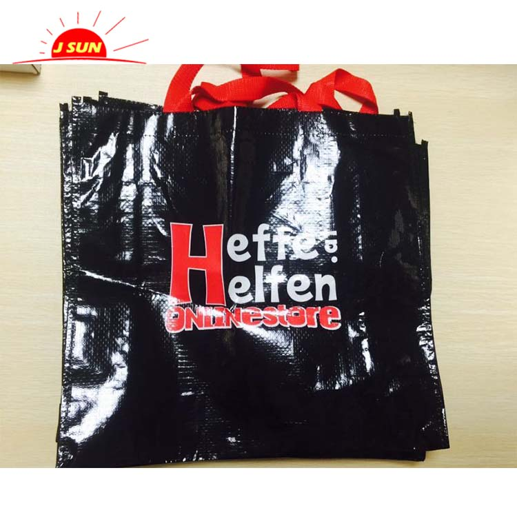 Fancy laminated shopping bag, foldable shopping bag reusable shopping bags