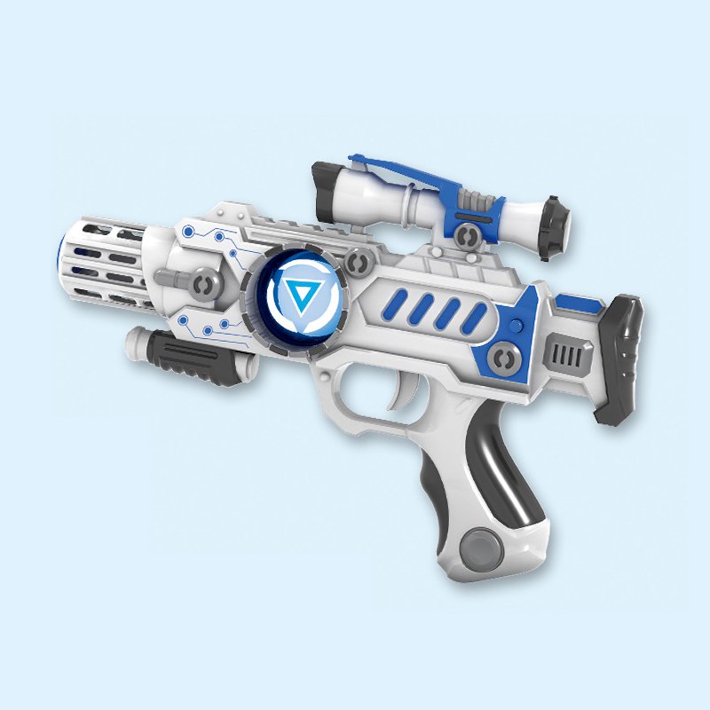 2018 plastic simulation space gun battle kid <strong>toy</strong> with flashing light