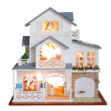 Making wooden toys doll furniture wood diy miniature dollhouse kit