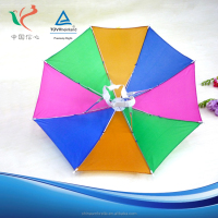 Promotion outdoor custom cheap price top quality advertising umbrella hat