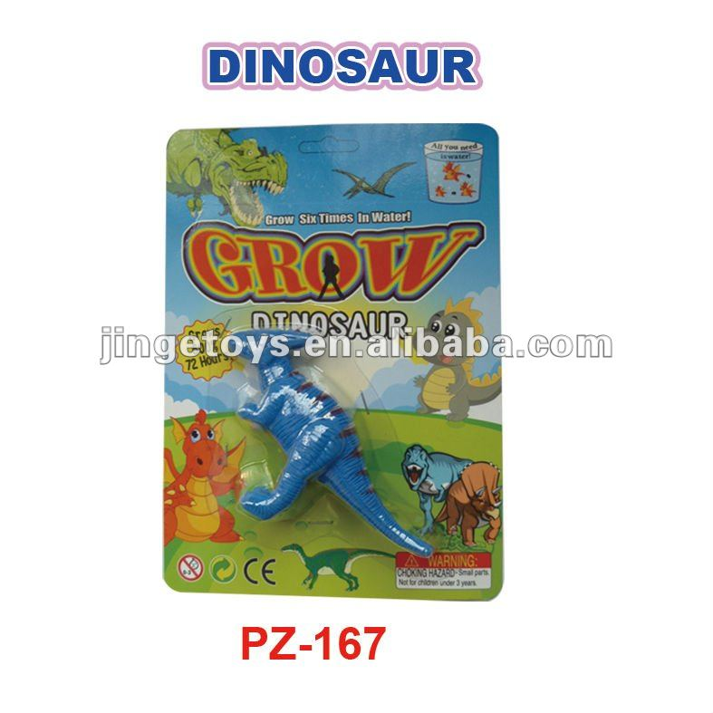 NEW GROW A DINOSAUR BRAND NEW GROW A DINOSAUR TOY DROP IN WATER GROWS 600% ITS ACTUAL SIZE