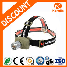 3W Zoomable Super Bright Light and Handy Rechargeable Led Mini Surgical Headlight