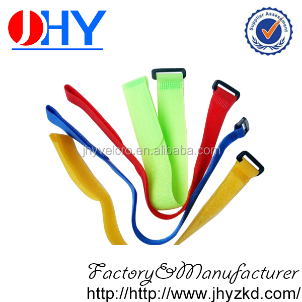 Top quality nylon hook and loop strap