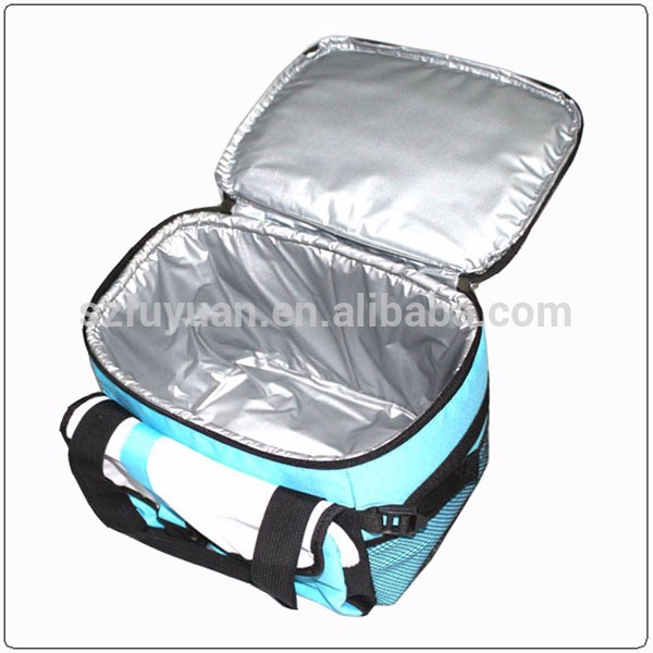 Wholesale factory direct design thermostat supermarket cooler bag with aluminium lining