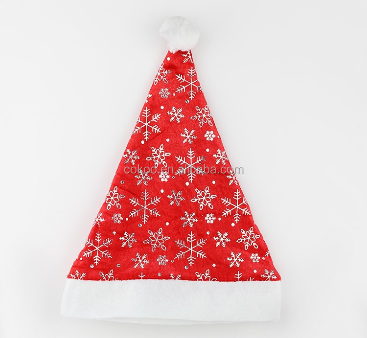 New Arrival Beautiful Design Xmas Santa Claus Hat Christmas Door Window Curtain Decorative Indoor Home Decoration