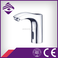 JN28804 Curved Inductive Automatic Sensor Brass Basin Faucet