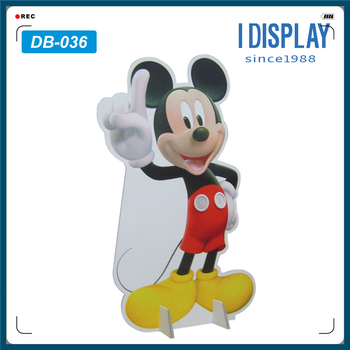 Cartoon Cutout Cardboard Advertising Display Standee