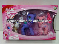 wholesale rubber my little pony toy / rubber pony / rubber toy horse