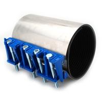 Repair clamp for broken or leaking pipeline