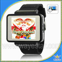 "Quadband camera watch phone 1.8"" touch screen with bluetooth Wayestar K1"