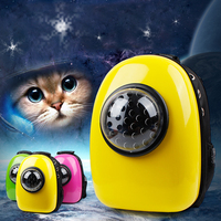 Space Capsule Shaped Pet Carrier Breathable Cat Backpack PC Pet Dog Outside Travel Carrier
