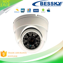 Bessky CCTV P2P Waterproof 2.0MP White Dome AHD Camera with Night Vision Function with camera board ahd 1080p