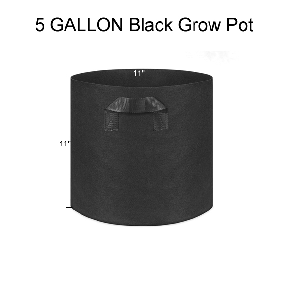 5 Gallon Grow Bags
