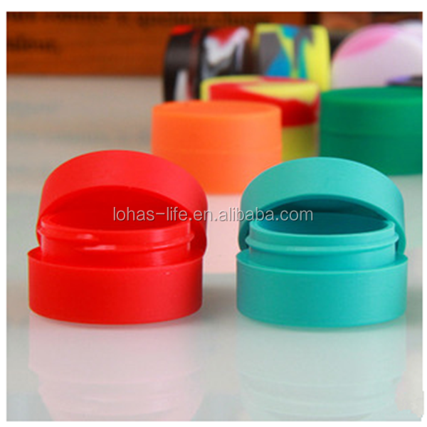 Non-toxic food grade silicone container oil dab wax tool