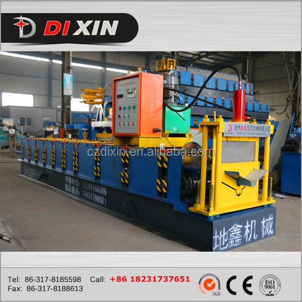 color steel metal roof ridge cap flashing cold roll forming machine
