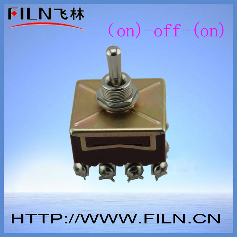 small 15a 250v 12 pin sealed toggle switches