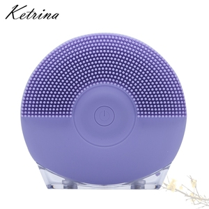 hot selling MINI professional skin care products silicone facial cleansing brush
