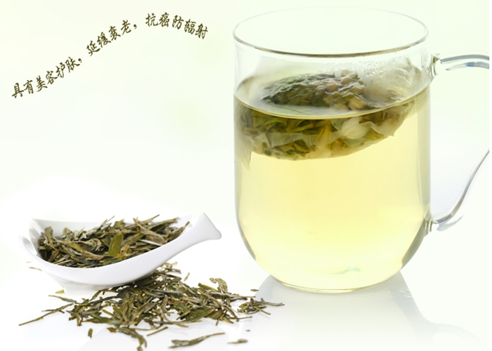 Organic Famous Jasmine Green Tea best-selling Jasmine