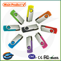 Promotion customise logo bulk16gb swivel usb 2.0 3.0 flash drive