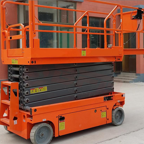 Hot sale 10m small mobile scissor lift table manufacturer made in usa