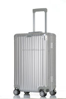 fashionable aluminum luggage suitcase