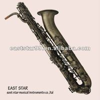Musical instruments antique bronze baritone Chinese saxophone