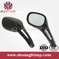 FLYQUICK ZF001-18 motorcycle plastic mirror for HAOJUE UA150T HS125T