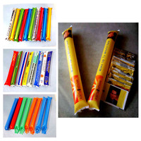 Reused Pe material led balloon cheering stick for promotion