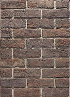 Artificial stone wall tiles, red bricks for construction